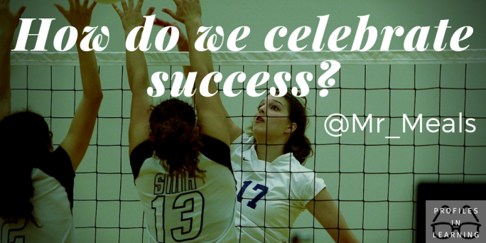 How do we celebrate success_