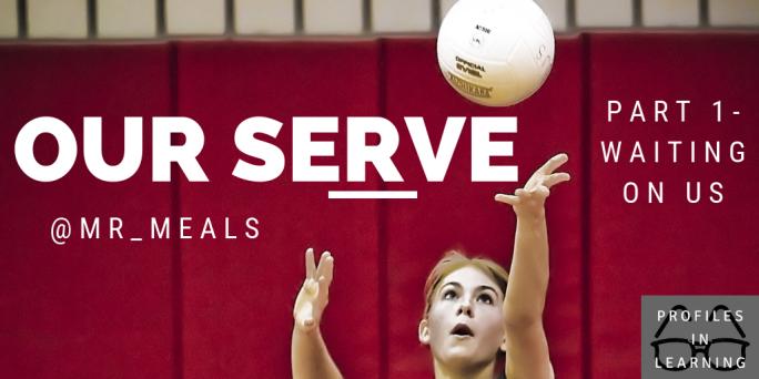 our serve